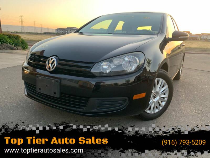 2012 Volkswagen Golf for sale at Top Tier Auto Sales in Sacramento CA