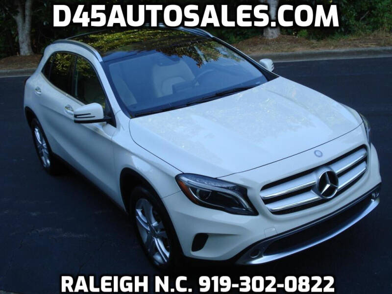 2016 Mercedes-Benz GLA for sale at D45 Auto Brokers in Raleigh NC