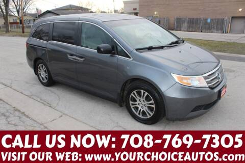 2012 Honda Odyssey for sale at Your Choice Autos in Posen IL