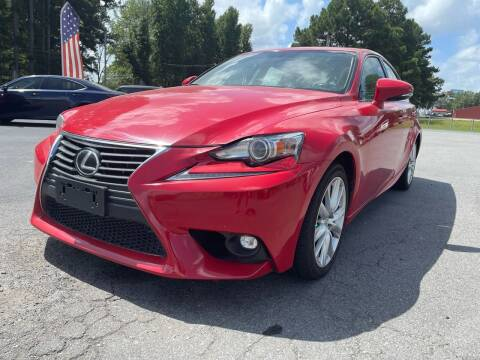 2016 Lexus IS 200t for sale at Airbase Auto Sales in Cabot AR