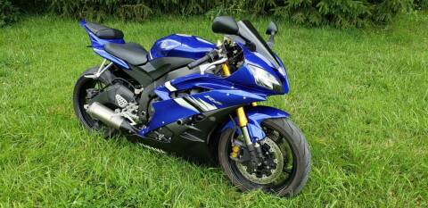 2006 Yamaha YZF R6 L for sale at Adams Enterprises in Knightstown IN
