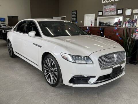 2018 Lincoln Continental for sale at SOUTHFIELD QUALITY CARS in Detroit MI