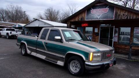 1993 GMC Sierra 1500 for sale at LEE AUTO SALES in McAlester OK