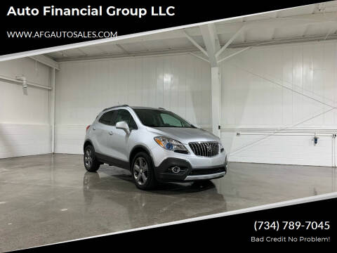 2013 Buick Encore for sale at Auto Financial Group LLC in Flat Rock MI