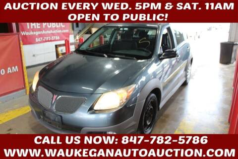 2006 Pontiac Vibe for sale at Waukegan Auto Auction in Waukegan IL