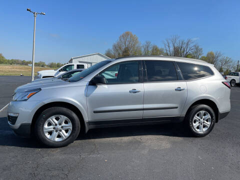 2016 Chevrolet Traverse for sale at B & W Auto in Campbellsville KY