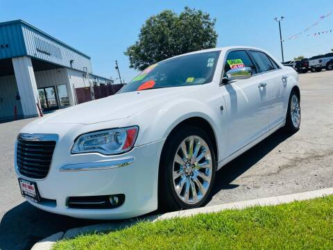 2013 Chrysler 300 for sale at Credit World Auto Sales in Fresno CA