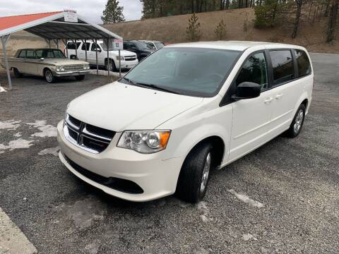 2012 Dodge Grand Caravan for sale at CARLSON'S USED CARS in Troy ID