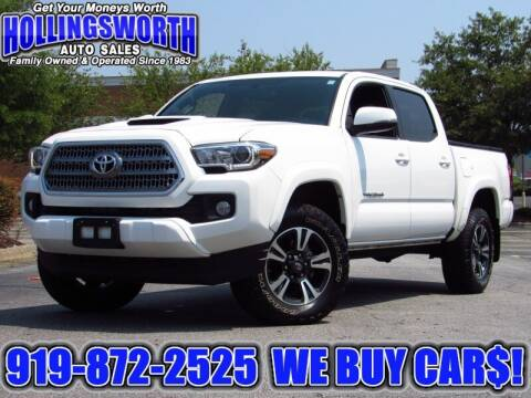 2016 Toyota Tacoma for sale at Hollingsworth Auto Sales in Raleigh NC