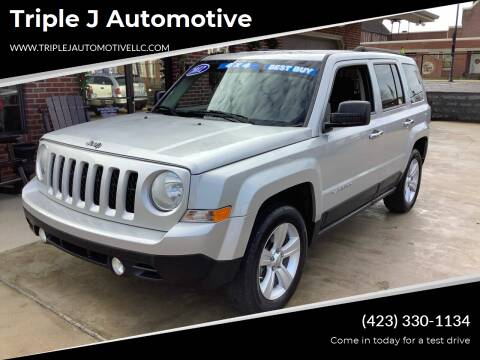 2012 Jeep Patriot for sale at Triple J Automotive in Erwin TN