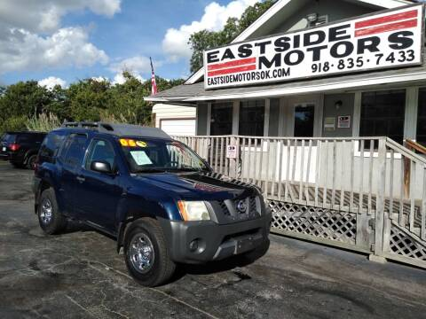 2006 Nissan Xterra for sale at EASTSIDE MOTORS in Tulsa OK