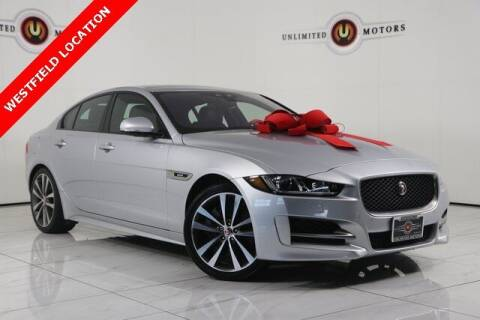 2017 Jaguar XE for sale at INDY'S UNLIMITED MOTORS - UNLIMITED MOTORS in Westfield IN