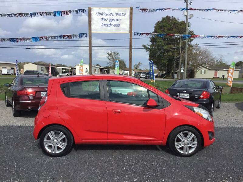 2013 Chevrolet Spark for sale at Affordable Autos II in Houma LA