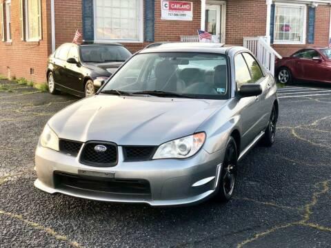 2007 Subaru Impreza for sale at Carland Auto Sales INC. in Portsmouth VA