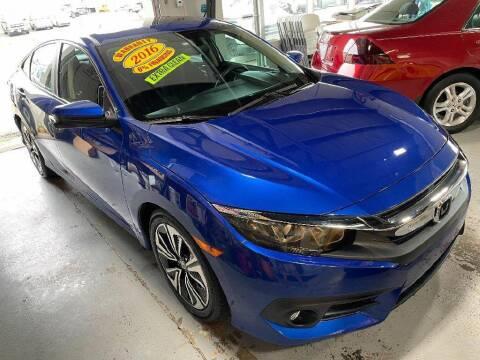 2016 Honda Civic for sale at Jose's Auto Sales Inc in Gurnee IL