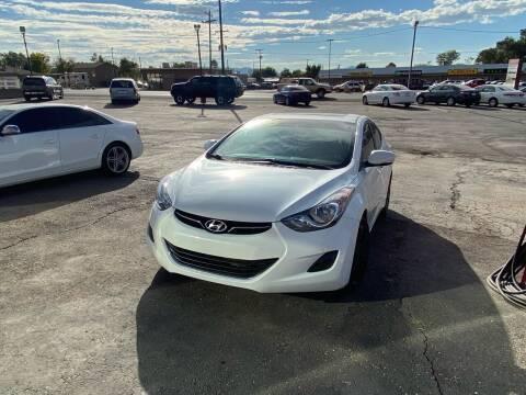 2011 Hyundai Elantra for sale at University Auto Sales in Cedar City UT