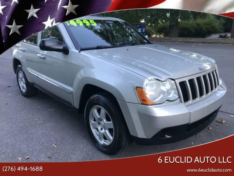 2010 Jeep Grand Cherokee for sale at 6 Euclid Auto LLC in Bristol VA