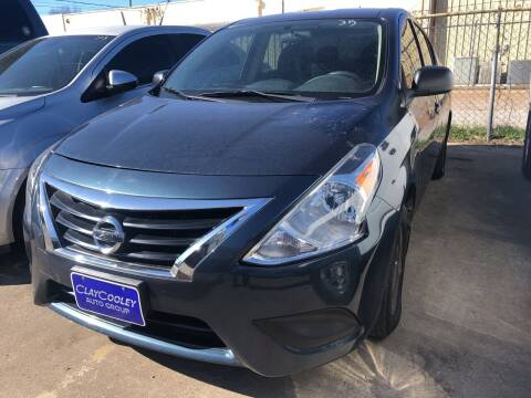 2015 Nissan Versa for sale at Auto Access in Irving TX