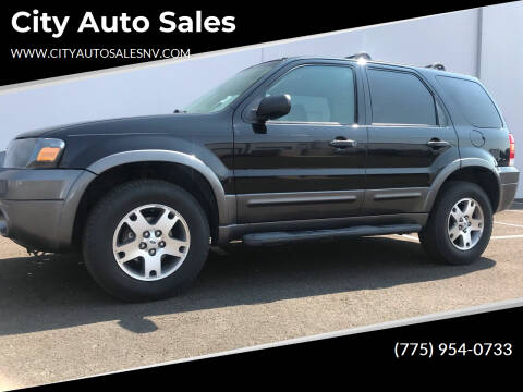 2005 Ford Escape for sale at City Auto Sales in Sparks NV