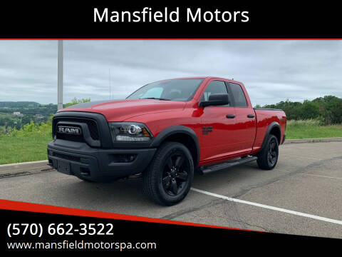 2020 RAM Ram Pickup 1500 Classic for sale at Mansfield Motors in Mansfield PA