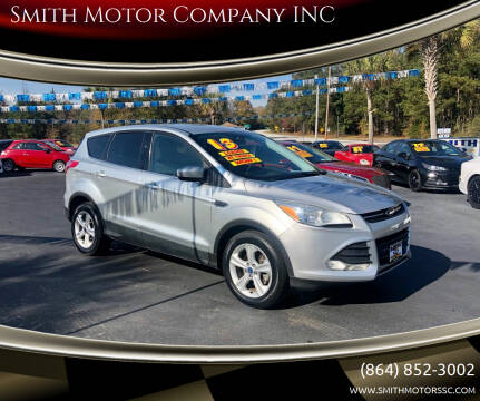 2013 Ford Escape for sale at Smith Motor Company INC in Mc Cormick SC