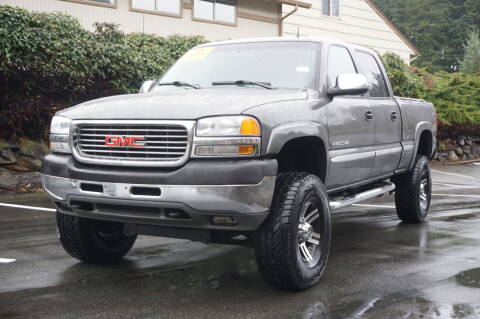 2002 GMC Sierra 2500HD for sale at West Coast Auto Works in Edmonds WA