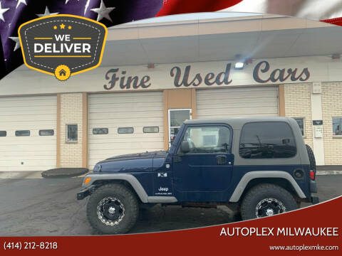 2006 Jeep Wrangler for sale at Autoplex 2 in Milwaukee WI