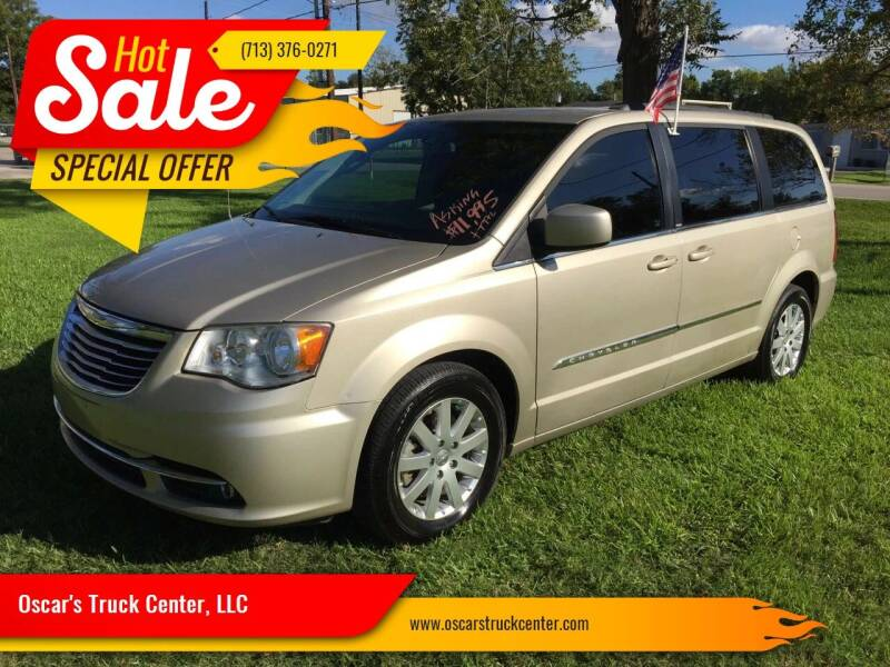 2014 Chrysler Town and Country for sale at Oscar's Truck Center, LLC in Houston TX