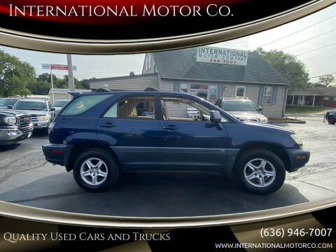 2001 Lexus RX 300 for sale at International Motor Co. in Saint Charles MO