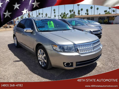 2008 Lincoln MKZ for sale at 48TH STATE AUTOMOTIVE in Mesa AZ