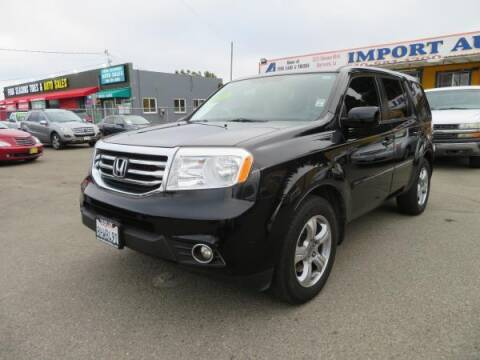 2014 Honda Pilot for sale at Import Auto World in Hayward CA