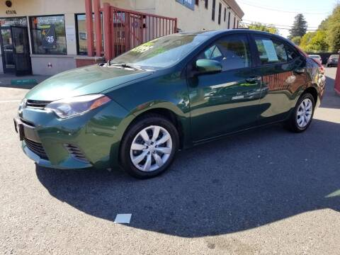 2015 Toyota Corolla for sale at AUTOMEX in Sacramento CA