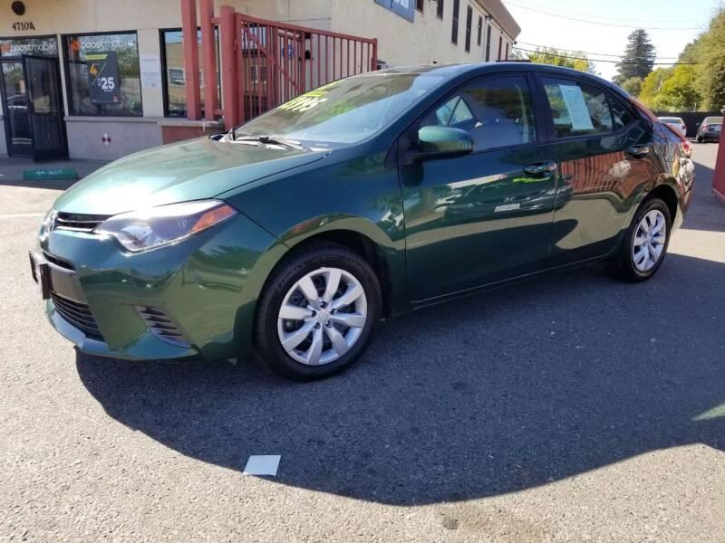 2015 Toyota Corolla for sale at AUTOMEX in Sacramento CA