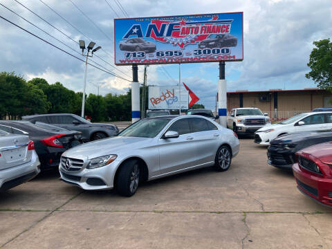 2017 Mercedes-Benz C-Class for sale at ANF AUTO FINANCE in Houston TX