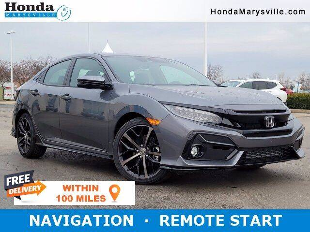 2021 Honda Civic for sale in Marysville, OH