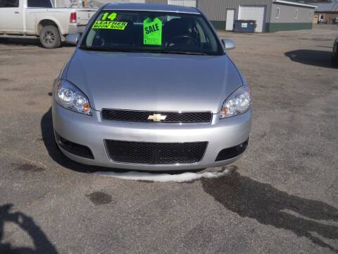 2014 Chevrolet Impala Limited for sale at Shaw Motor Sales in Kalkaska MI