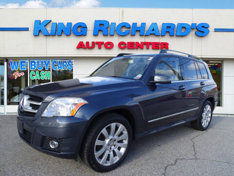 2012 Mercedes-Benz GLK for sale at KING RICHARDS AUTO CENTER in East Providence RI