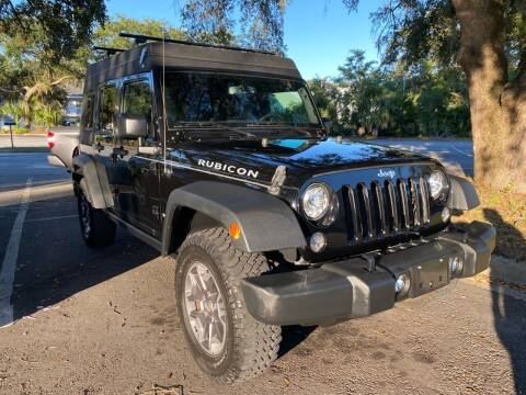 2017 Jeep Wrangler Unlimited for sale at GOLD COAST IMPORT OUTLET in Saint Simons Island GA
