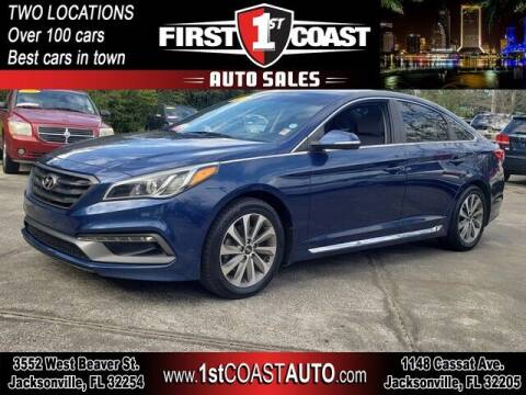 2015 Hyundai Sonata for sale at 1st Coast Auto -Cassat Avenue in Jacksonville FL