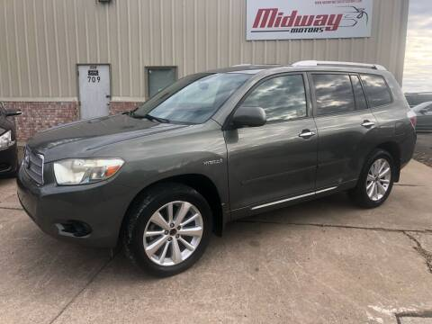 2008 Toyota Highlander Hybrid for sale at Midway Motors in Conway AR