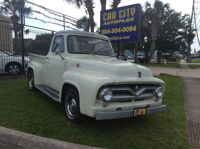 1955 Ford F-100 for sale at Car City Autoplex in Metairie LA