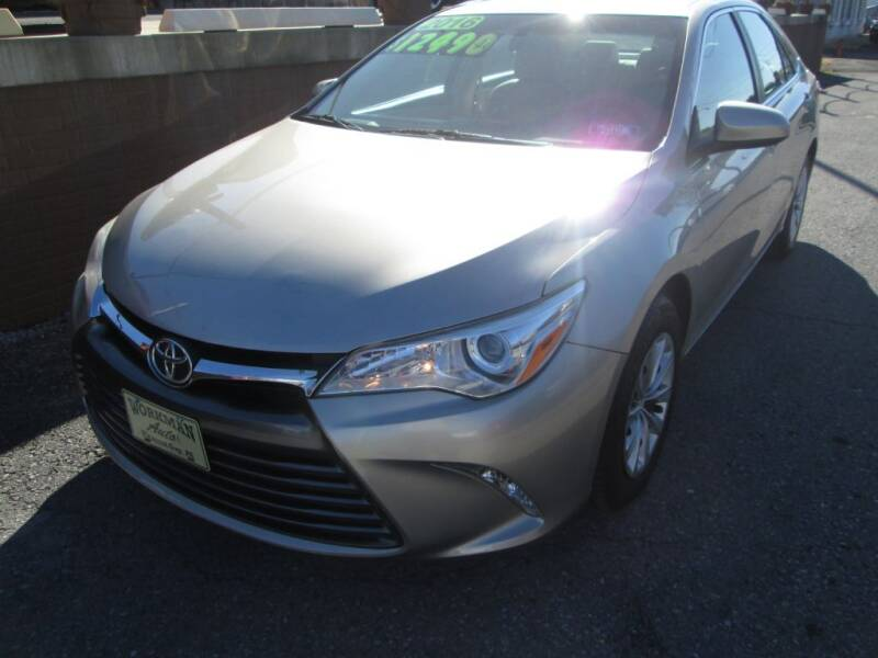 2016 Toyota Camry for sale at WORKMAN AUTO INC in Pleasant Gap PA