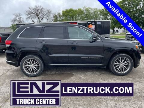 2017 Jeep Grand Cherokee for sale at LENZ TRUCK CENTER in Fond Du Lac WI