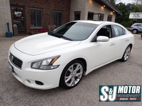 2012 Nissan Maxima for sale at S & J Motor Co Inc. in Merrimack NH