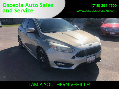 2015 Ford Focus for sale at Osceola Auto Sales and Service in Osceola WI