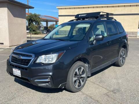 2018 Subaru Forester for sale at Deruelle's Auto Sales in Shingle Springs CA