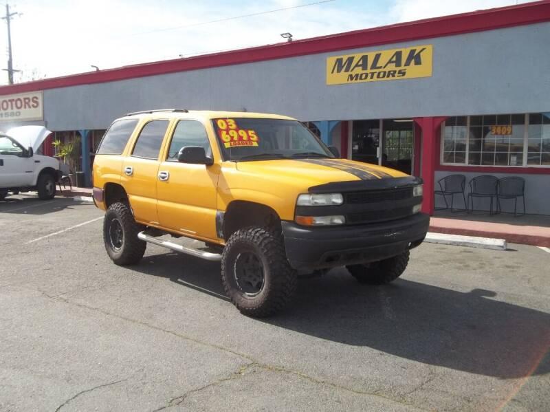 2003 Chevrolet Tahoe for sale at Atayas Motors INC #1 in Sacramento CA