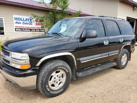 2004 Chevrolet Tahoe for sale at Hollatz Auto Sales in Parkers Prairie MN