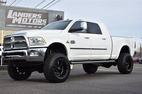 2013 RAM Ram Pickup 3500 for sale at Landers Motors in Gresham OR