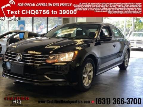 2016 Volkswagen Passat for sale at CERTIFIED HEADQUARTERS in Saint James NY
